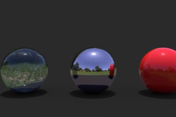 Esferas en Cycles